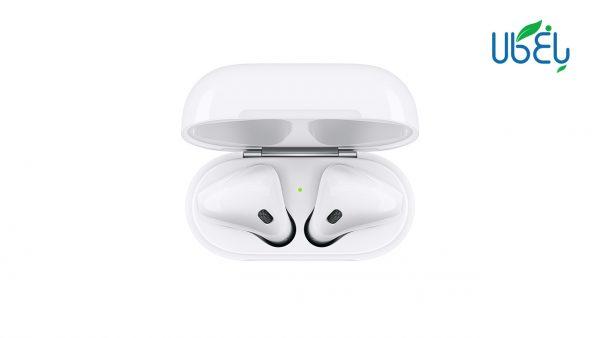 هدفون بی سیم اپل مدل AirPods2 به همراه محفظه شارژ
