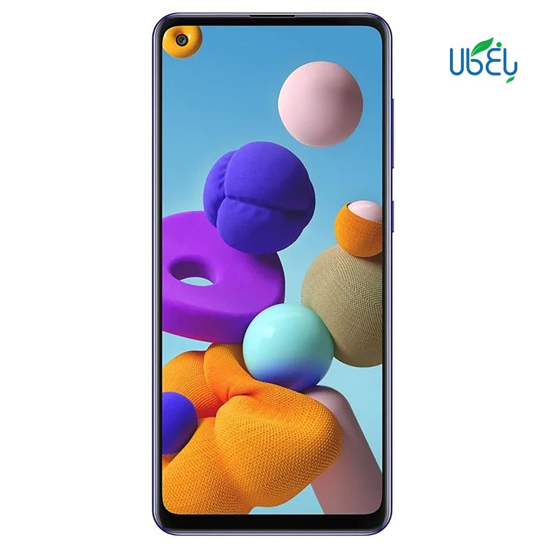 گوشی موبایل سامسونگ مدل Galaxy A21 ظرفیت ۳۲/۳GB گیگابایت
