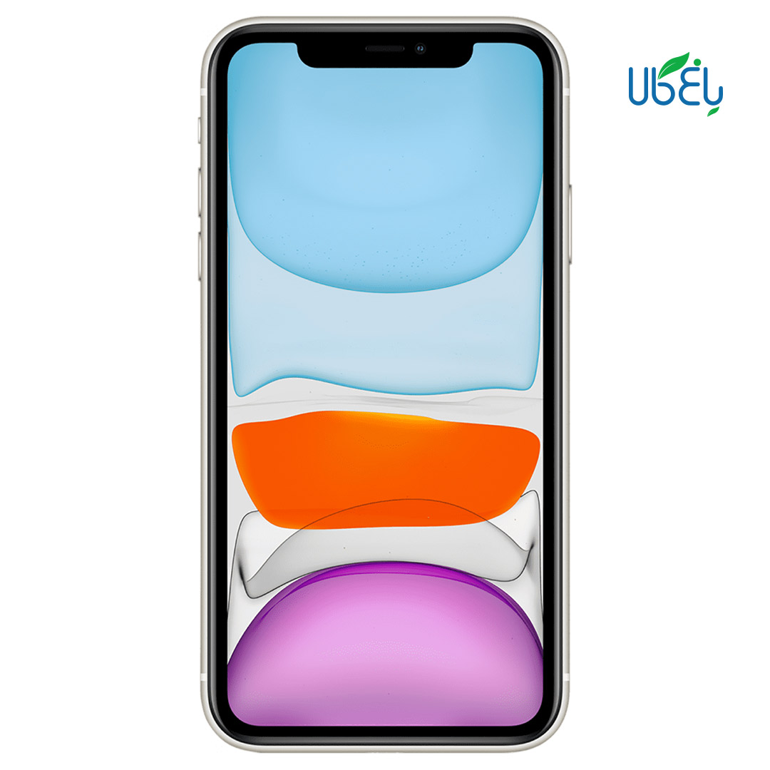 گوشی اپل apple iphone 11 دو سیم کارت ظرفیت ۱۲۸ گیگابایت