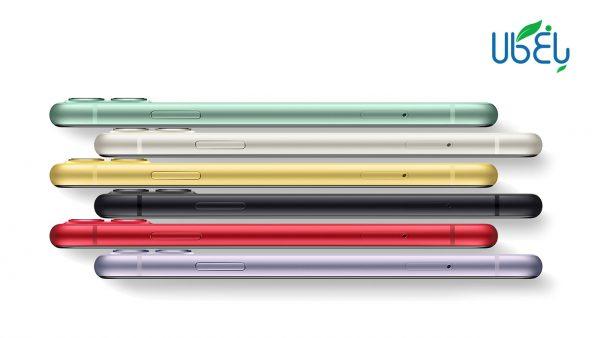 گوشی اپل apple iphone 11 دو سیم کارت ظرفیت 64 گیگابایت