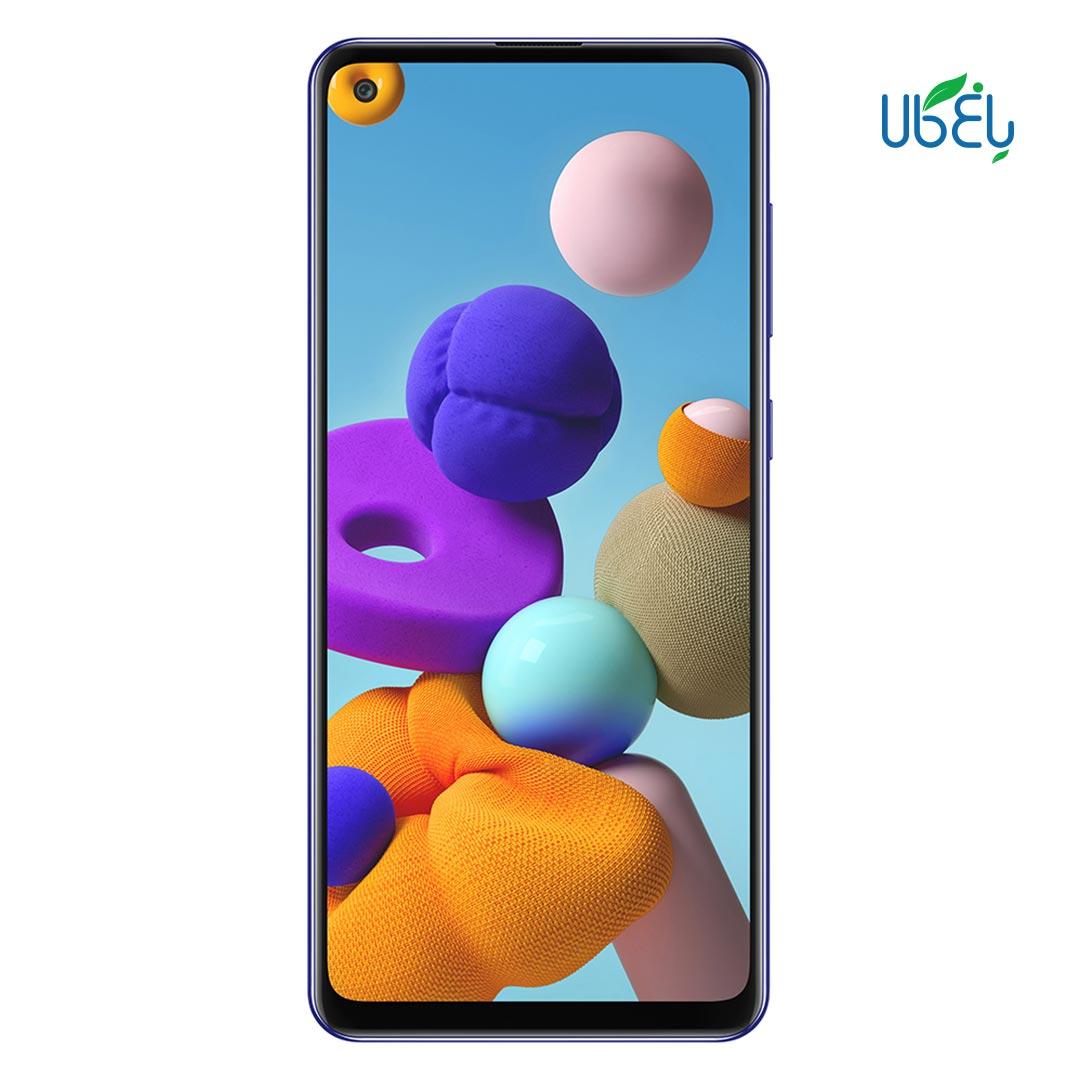 گوشی موبایل سامسونگ مدل Galaxy A21S ظرفیت ۳۲/۳GB