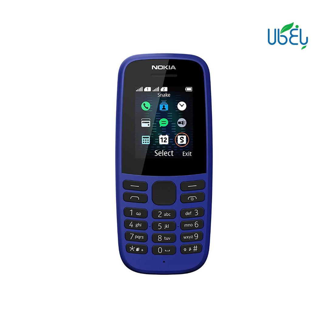گوشی موبايل نوکيا مدل ۱۰۵ (۲۰۱۹) دو سيم کارت