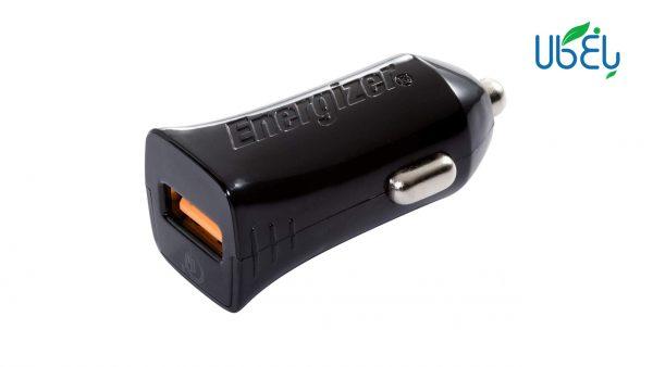 شارژر فندکی انرجایزر مدل DC1Q3UC23 + کابل USB-C