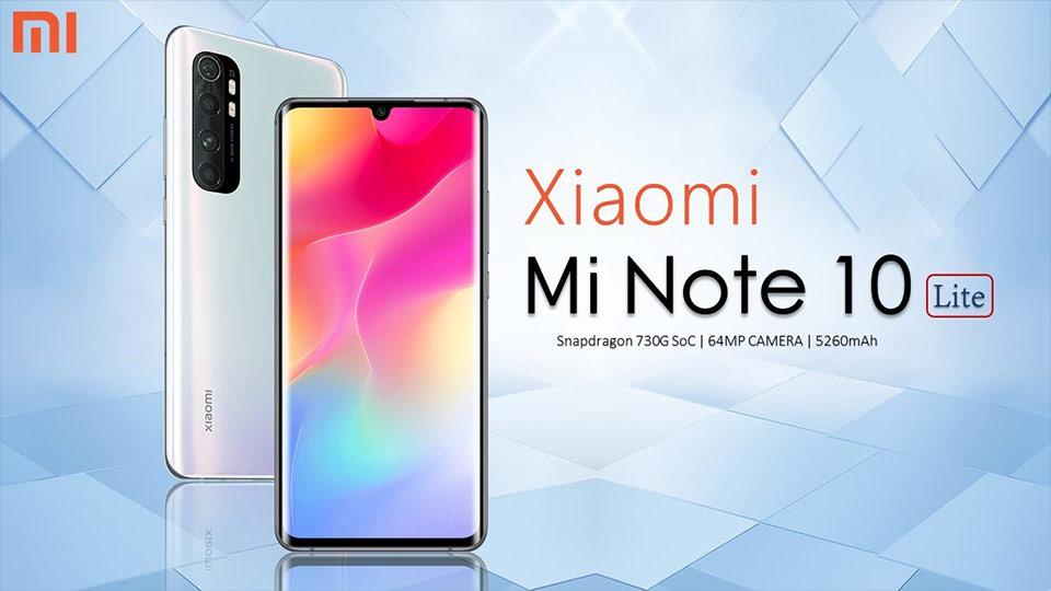 گوشی شیائومی مدل Mi Note 10 Lite ظرفیت 128/8GB