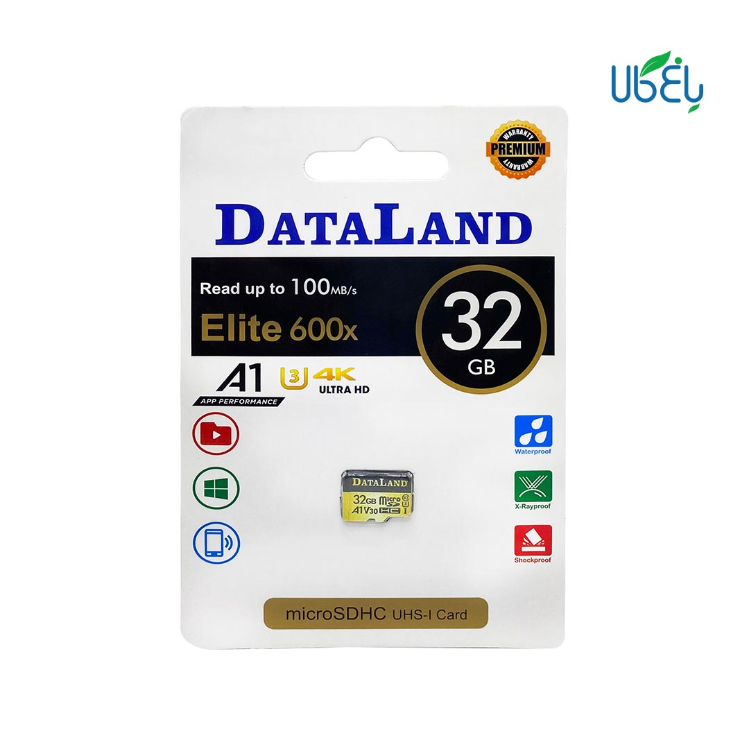 کارت حافظه دیتالند مدل microSDHC ظرفیت ۳۲ گیگابایت
