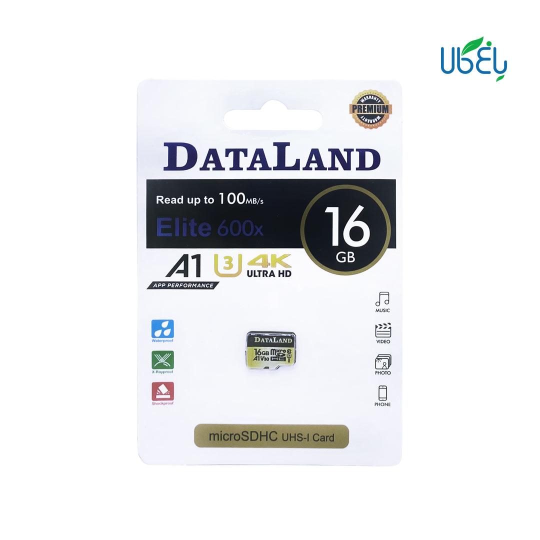 کارت حافظه دیتالند مدل microSDHC ظرفیت ۱۶گیگابایت