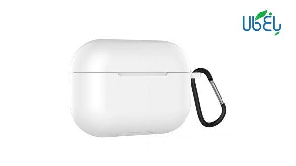 کاور محافظ سیلیکونی مناسب برای کیس AirPods Pro همراه با قلاب