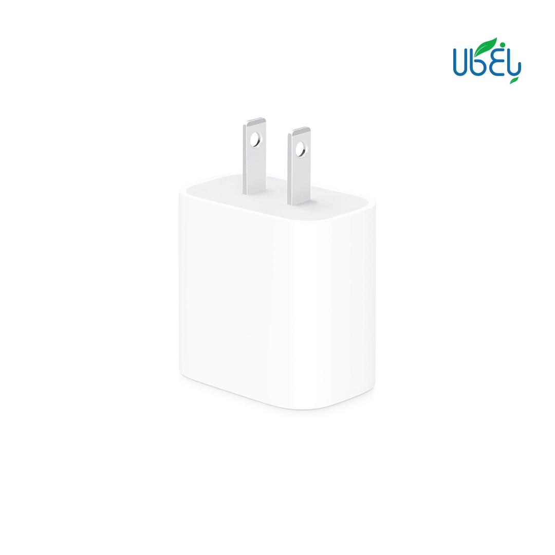 آداپتور فست شارژ اپل ۱۸ وات مدل A1720 با خروجی USB type-C