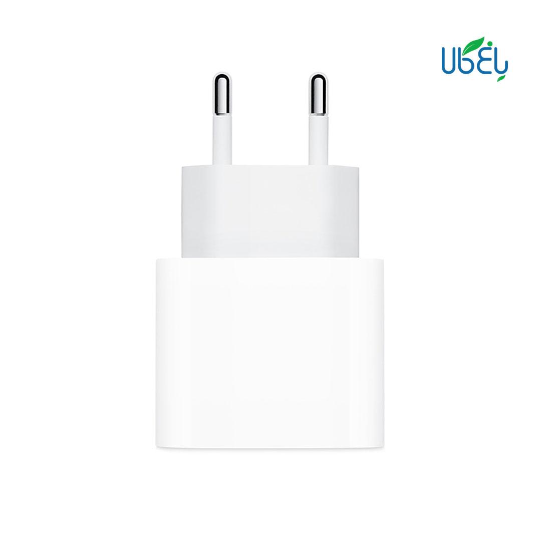 آداپتور فست شارژ اپل ۱۸ وات مدل A1692 با خروجی USB type-C