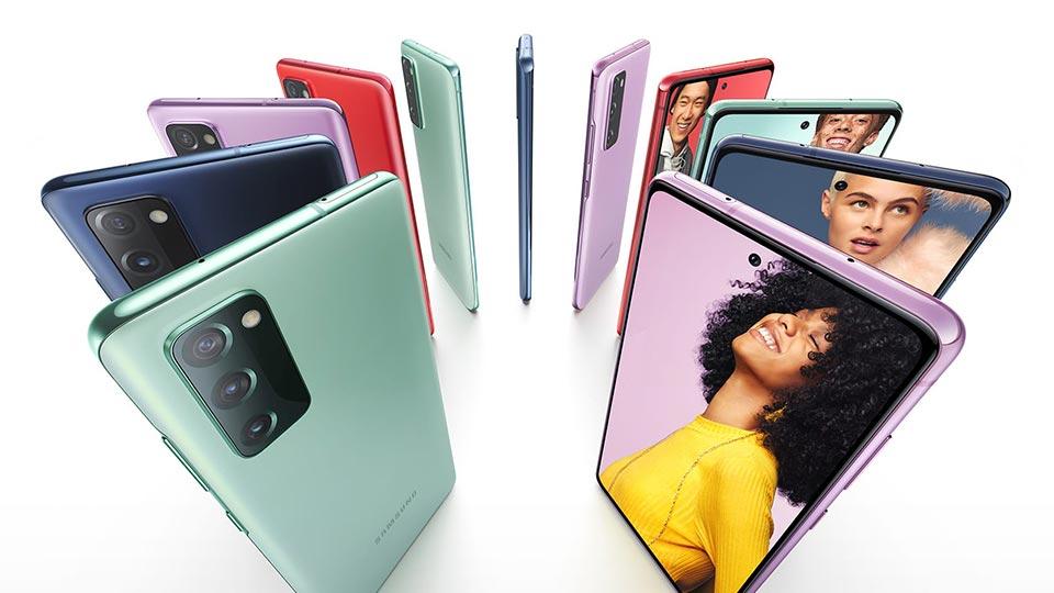 گوشی سامسونگ مدل Galaxy S20 FE با ظرفیت ۱۲۸/۶ دو سیم کارت
