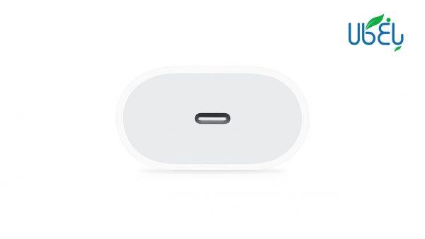 آداپتور فست شارژ طرح اصلی اپل 18 وات با خروجی USB type-C