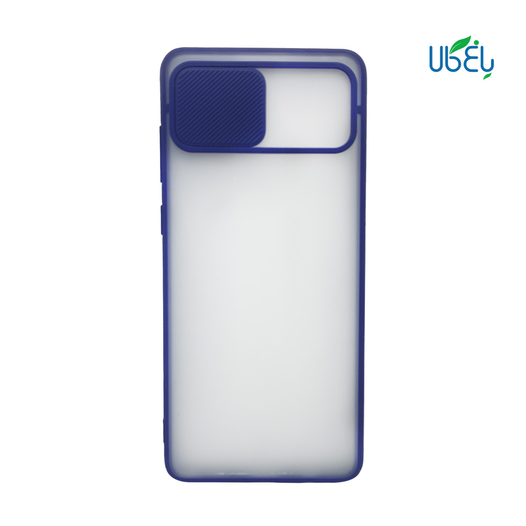 قاب پشت مات محافظ لنزدار کشویی مناسب گوشی سامسونگ Note 10Lite