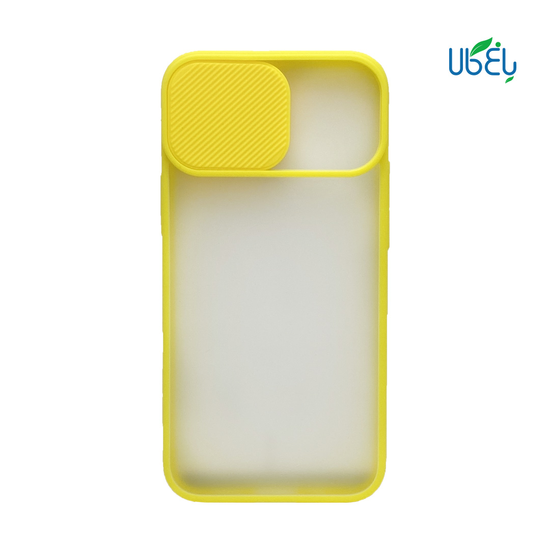 قاب پشت مات محافظ لنزدار کشویی مناسب گوشی iPhone 12 mini