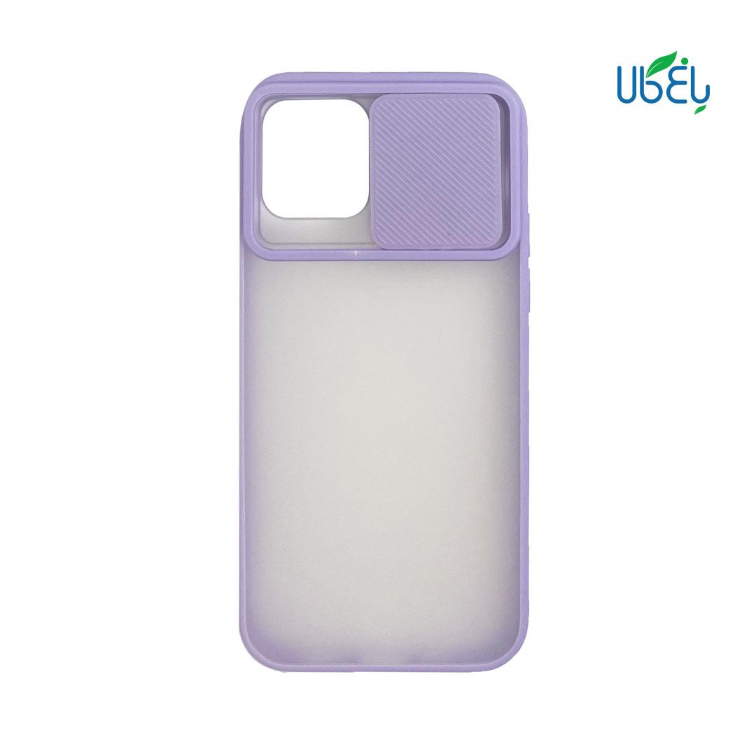 قاب پشت مات محافظ لنزدار کشویی مناسب گوشی iPhone 12/12 pro