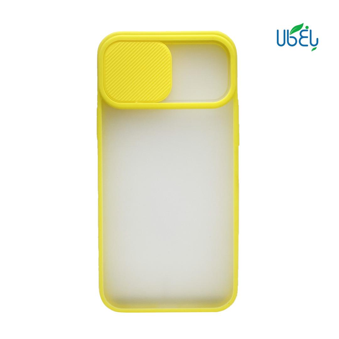 قاب پشت مات Iphone 12 Pro Max محافظ لنزدار کشویی