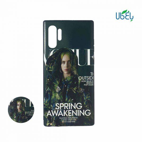 قاب طرح دار همراه با پاپ سوکت گوشی سامسونگ Note 10 Plus