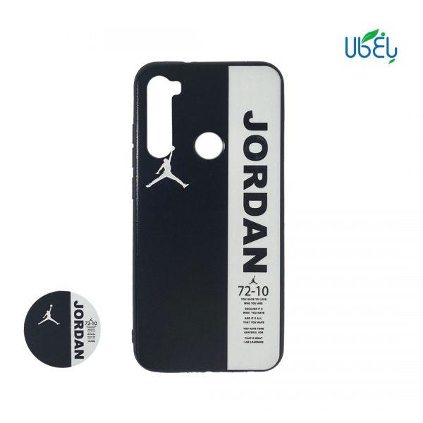 قاب طرح دار همراه با پاپ سوکت مناسب گوشی شیائومی Note 8