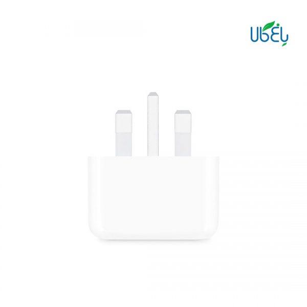 آداپتور فست شارژ اپل 20 وات با خروجی USB type-C