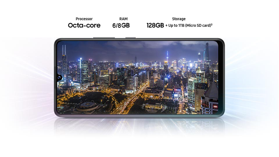 گوشی سامسونگ Galaxy A42 دو سیم کارت ظرفیت 128/6GB