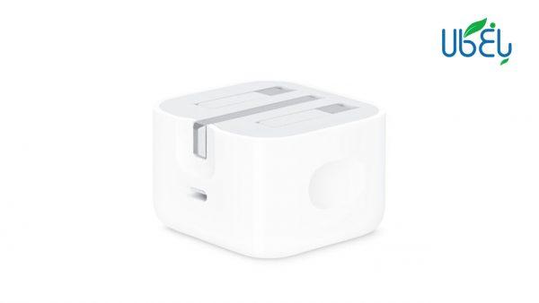 آداپتور فست شارژ اپل 20 وات اورجینال با خروجی USB type-C