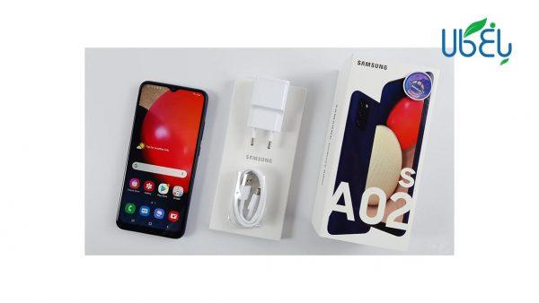 گوشی سامسونگ مدل Galaxy A02s با ظرفیت 32/3GB دوسیم کارت