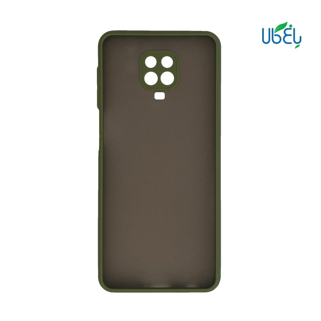 قاب پشت مات گوشی Redmi Note 9s محافظ لنزدار