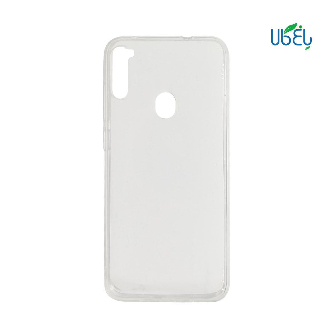 قاب پشت گلس شفاف مناسب گوشیهای موبایل سامسونگ مدل A11