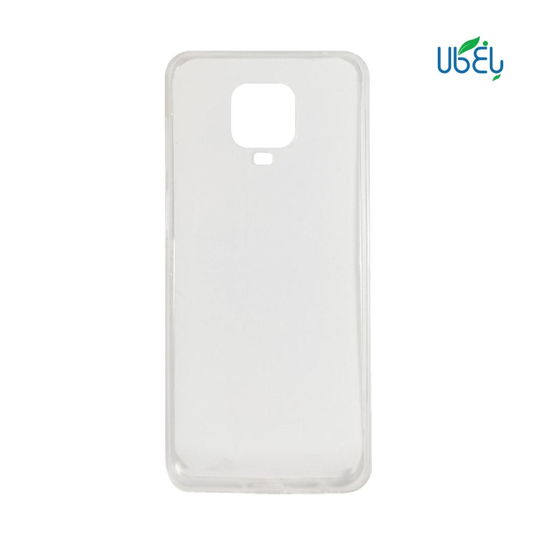 قاب پشت گلس شفاف مناسب گوشیهای شیائومی مدل Redmi note9s