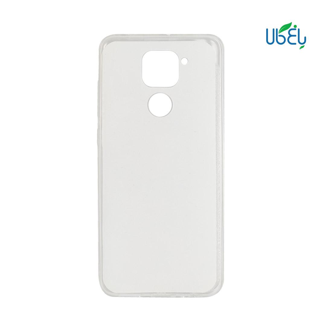 قاب پشت گلس شفاف مناسب گوشیهای شیائومی مدل Redmi note9