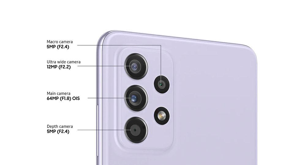 گوشی سامسونگ Galaxy A52 دو سیم کارت ظرفیت 256/8GB