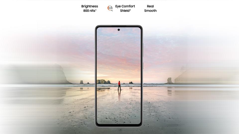 گوشی سامسونگ Galaxy A72 دو سیم کارت ظرفیت 256/8GB
