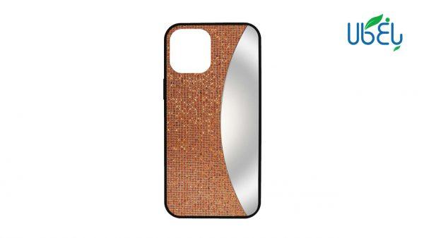 قاب اکلیلی آینهدار مناسب گوشی Iphone 12mini