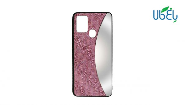قاب اکلیلی آینهدار مناسب گوشی سامسونگ مدل Galaxy A21s