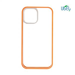 قاب شفاف دور رنگی مناسب گوشی اپل iPhone 12 Promax