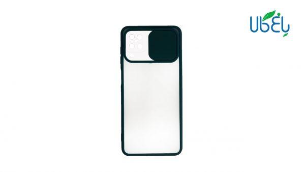 قاب پشت مات محافظ لنزدار کشویی گوشی سامسونگ Galaxy A12