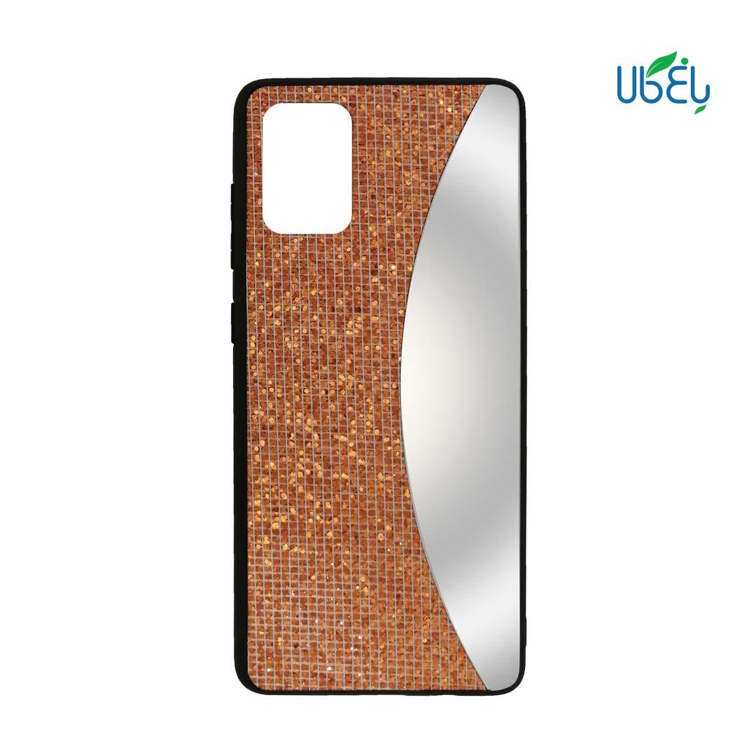 قاب اکلیلی آینهدار مناسب گوشی سامسونگ مدل Galaxy A71