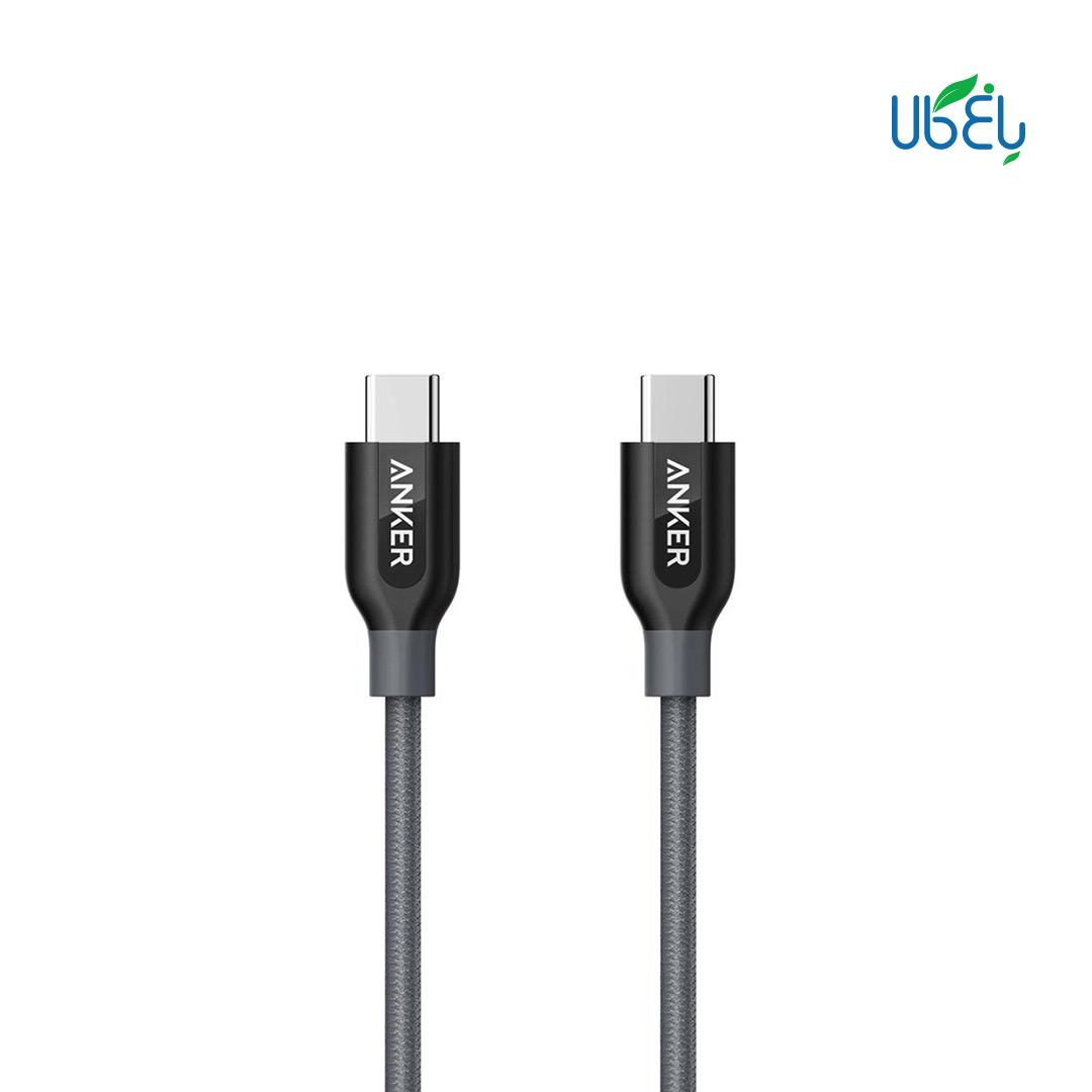 کابل تبدیل USB-C انکر A8187 Anker PowerLine 90Cm
