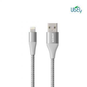 کابل تبدیل USB به لایتنینگ انکر مدل A8452 PowerLine II Plus طول 0.9 متر