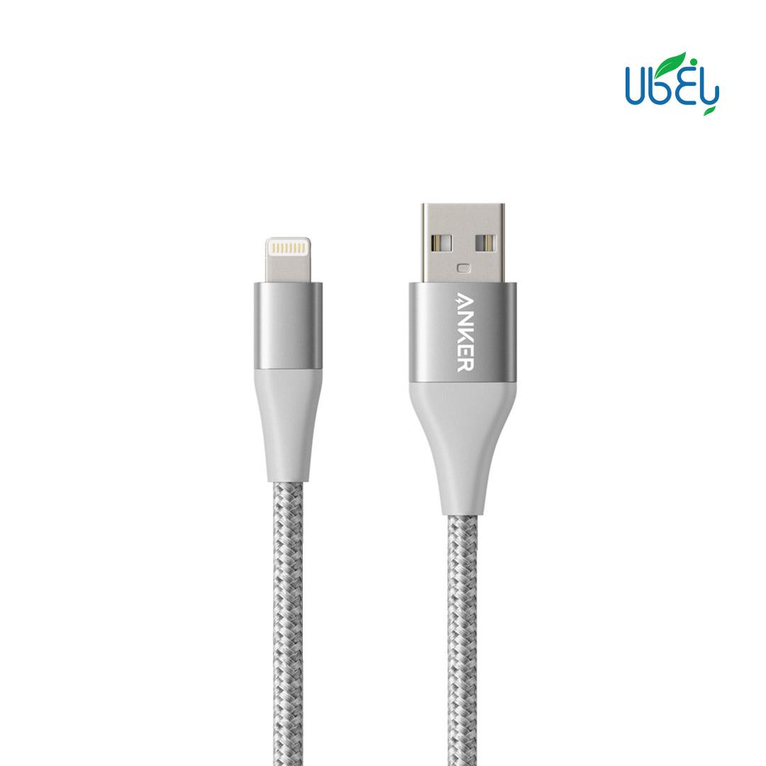 کابل تبدیل USB به لایتنینگ انکر مدل A8453 PowerLine+II طول ۱۸۰cm