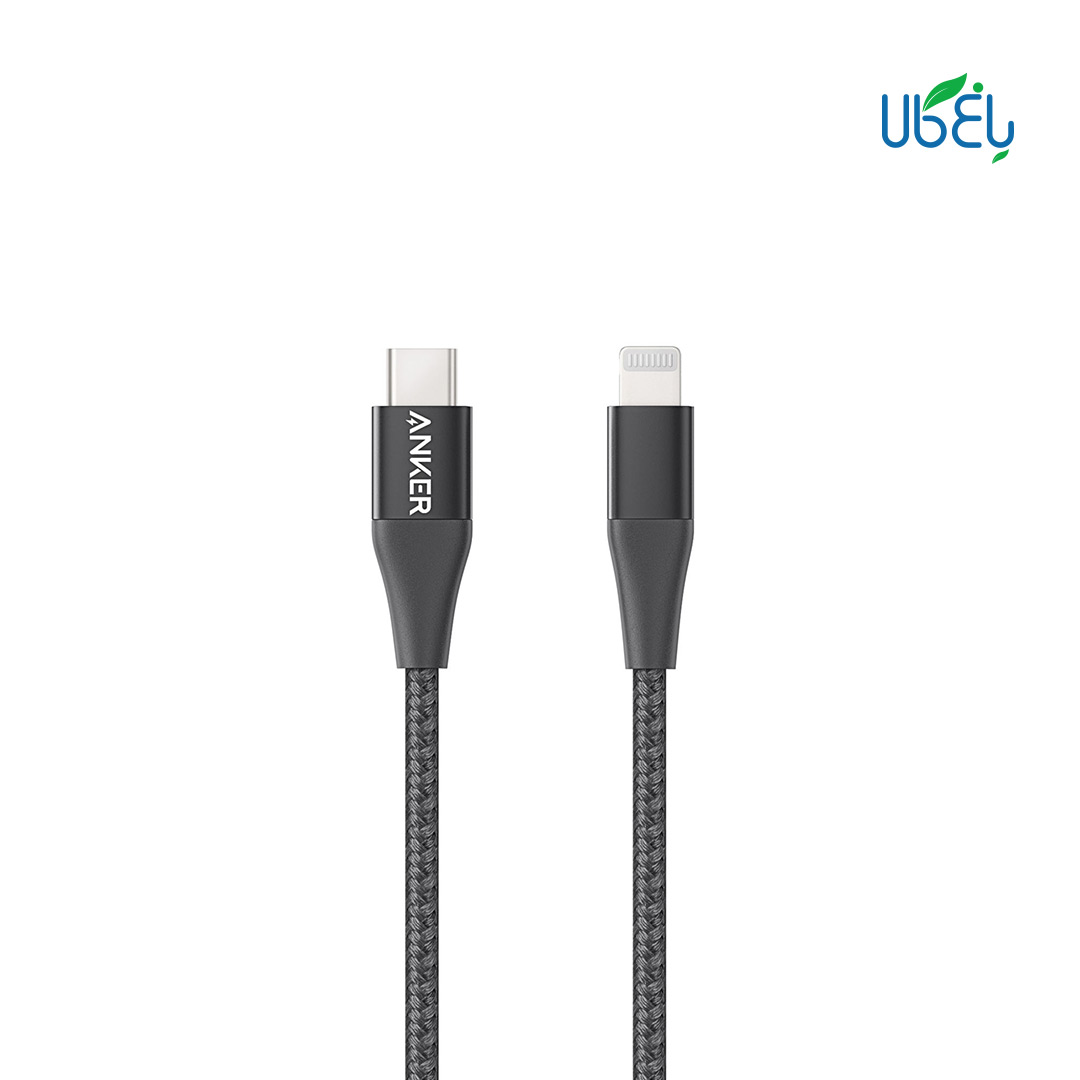 کابل تبدیل USB-C به لایتنینگ انکر مدل A8652 PowerLine+II
