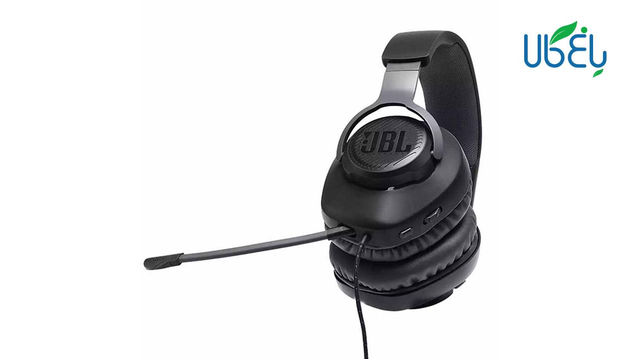 هدست مخصوص بازی مدل JBL Wired over-ear Gaming Headset – Quantum 100