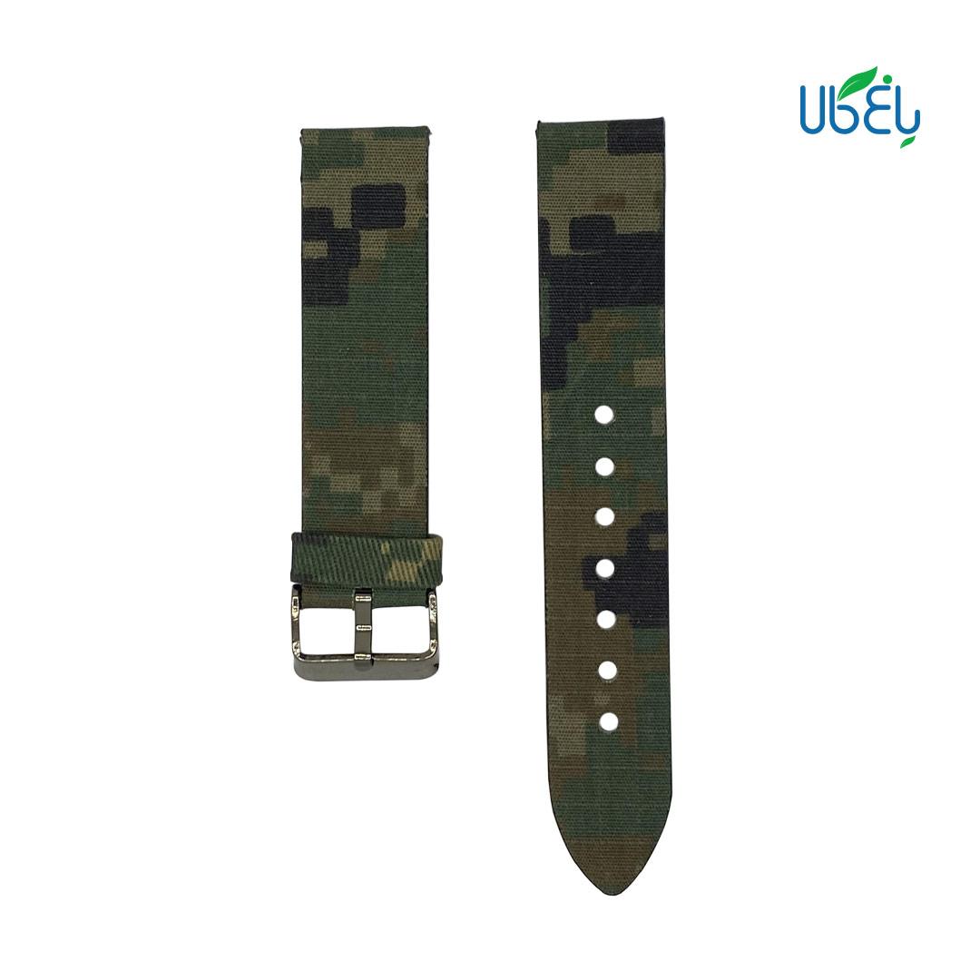 بند کنفی ساعت هوشمند سامسونگ مدل ارتشی مناسب Galaxy Gear S2