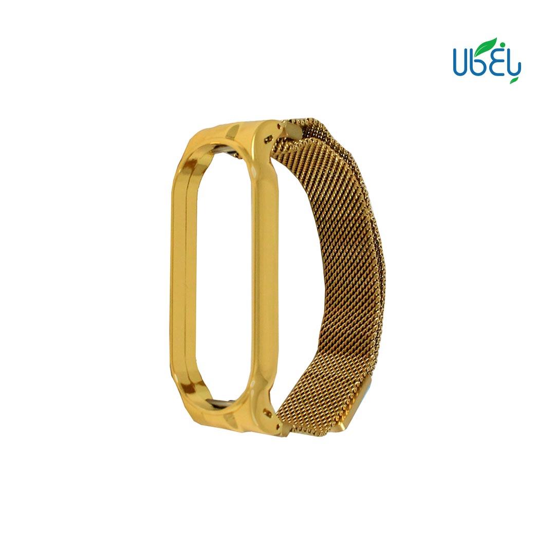 بند استیل مدل Milanese مناسب ساعت هوشمند Mi band 5/6