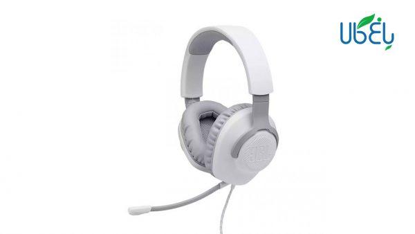 هدست مخصوص بازی مدل JBL Wired over-ear Gaming Headset - Quantum 100