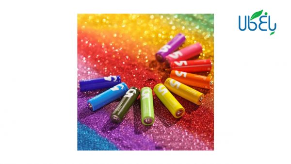 باتری قلمی رنگین کمانی شیائومی بسته ده تایی Xiaomi Rainbow Zi5 AA 1.5 V Battery