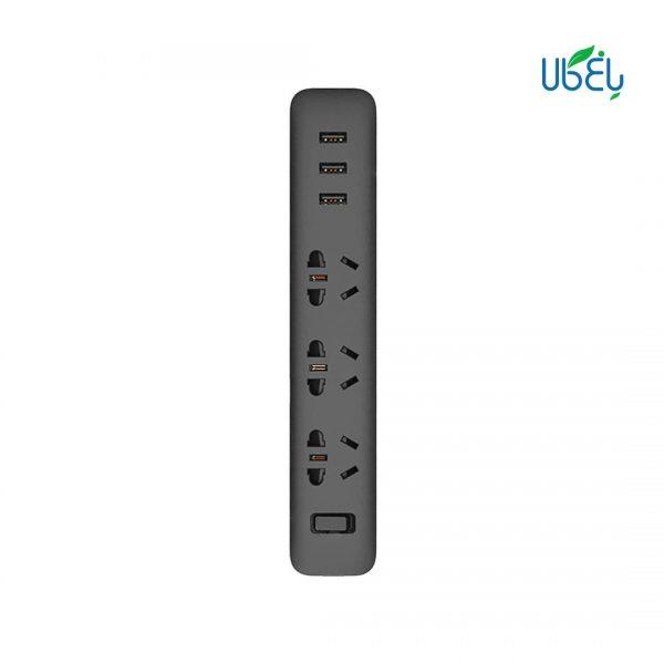 چند راهی برق شیائومی مدل port 3 USB 3