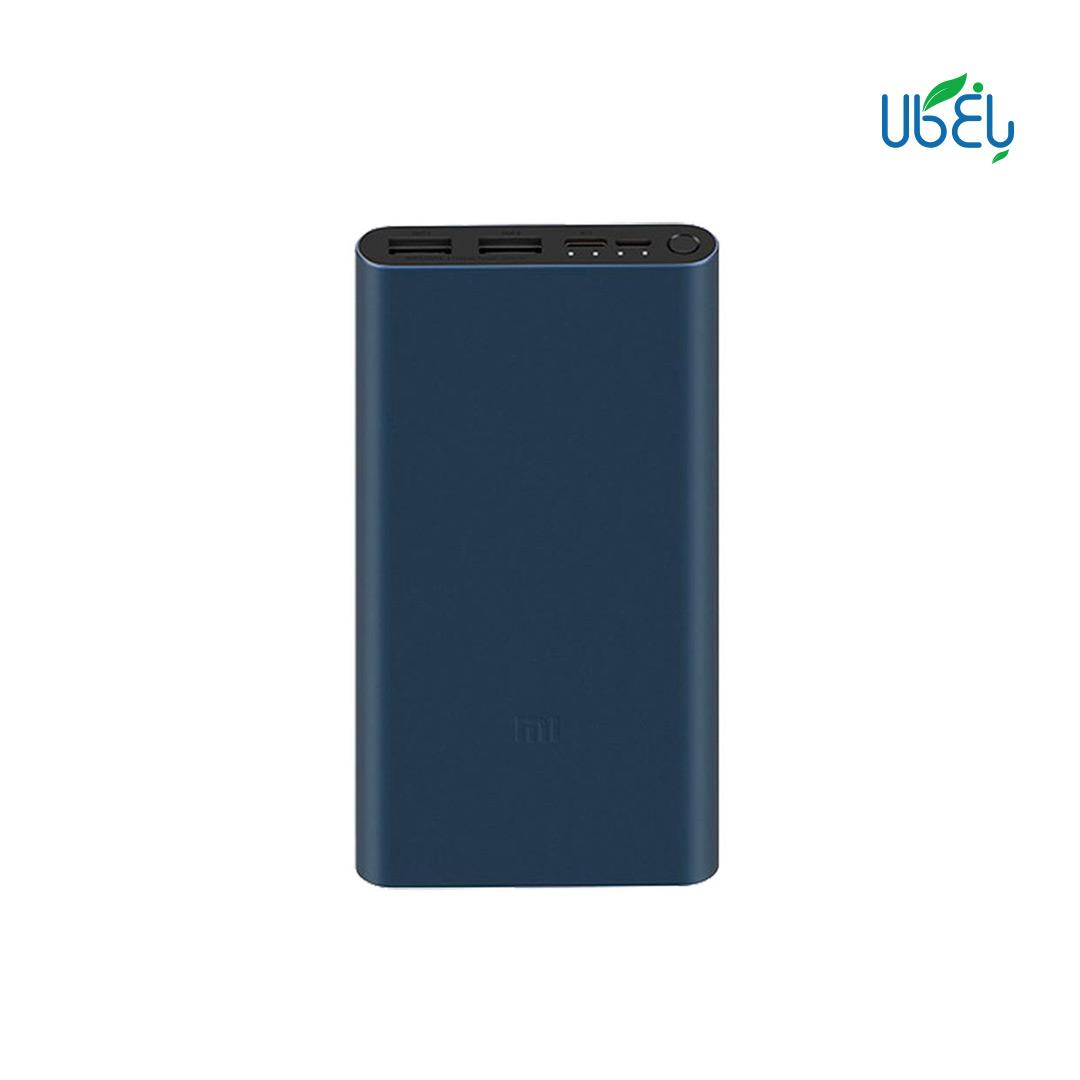 پاور بانک شیائومی ورژن ۳ ظرفیت (Xiaomi Mi Power Bank 10000mah (global