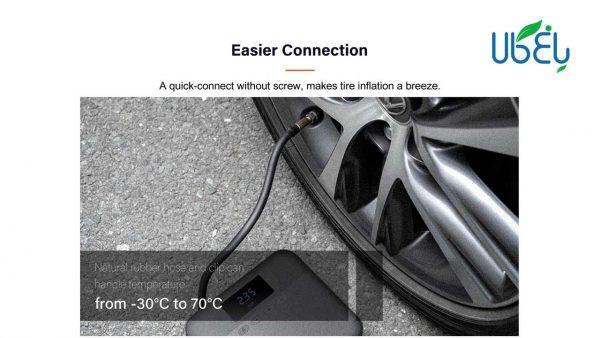 پمپ باد دیجیتال شیائومی مدل 70mai Air Compressor Lite