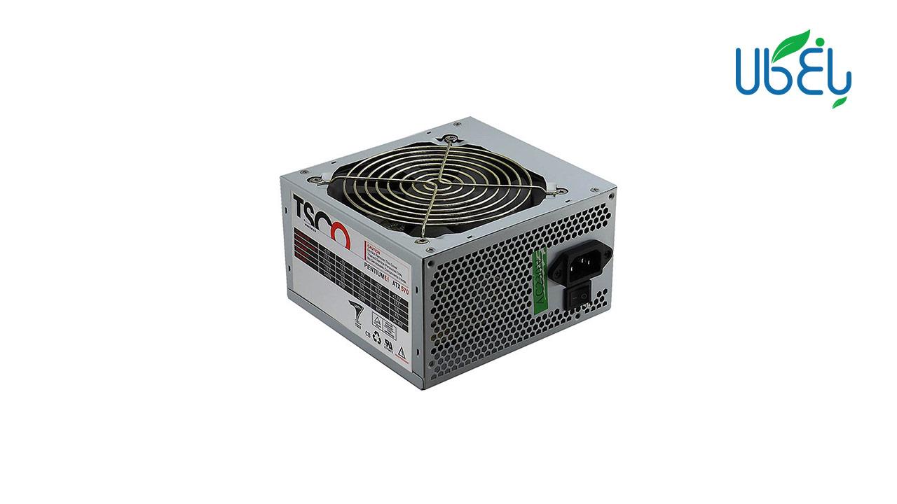 منبع تغذیه کامپیوتر تسکو مدل TSCO Power supply TP 570W