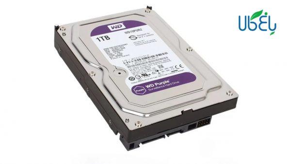 هارد دیسک وسترن دیجیتال مدل WD Purple (1 ترابایت)